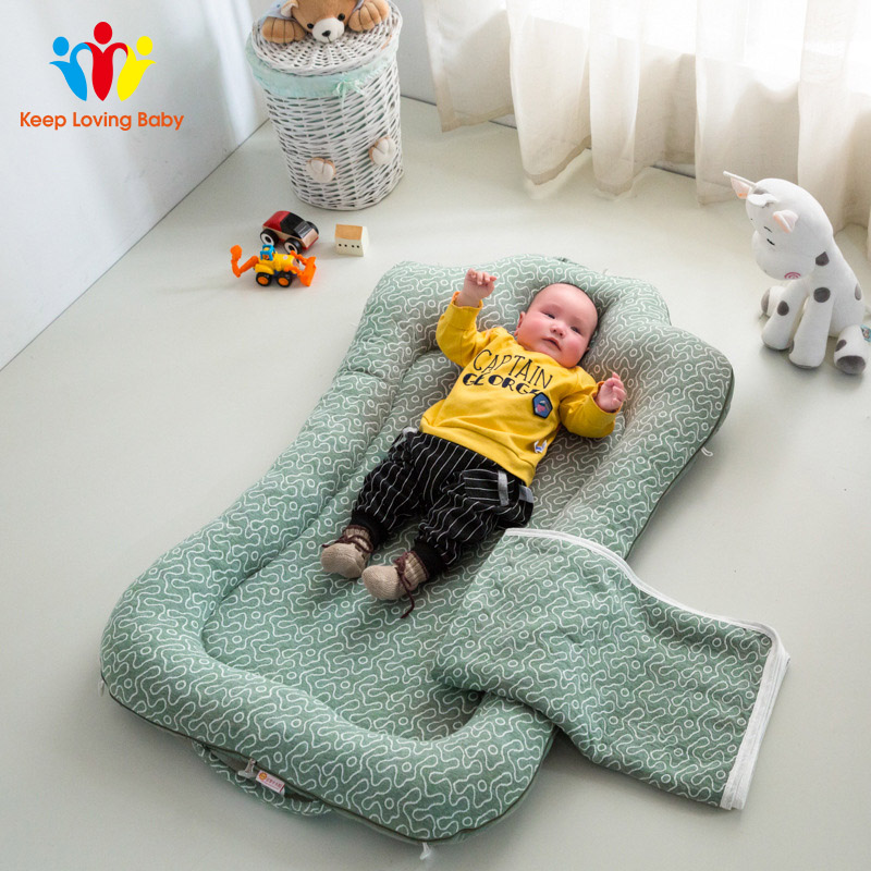 Portable Cotton Crib Fitted Sheet Soft Baby Bed Mattress Cover Protector Cartoon Newborn Bedding For Cot Size 60*110cm
