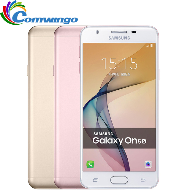 Original Samsung Galaxy On5 G5520/G5510 2GB RAM 16GB ROM 4G LTE Mobile Phone 13MP 2600mAh Dual SIM 5.0'' Android 6.0 Phone