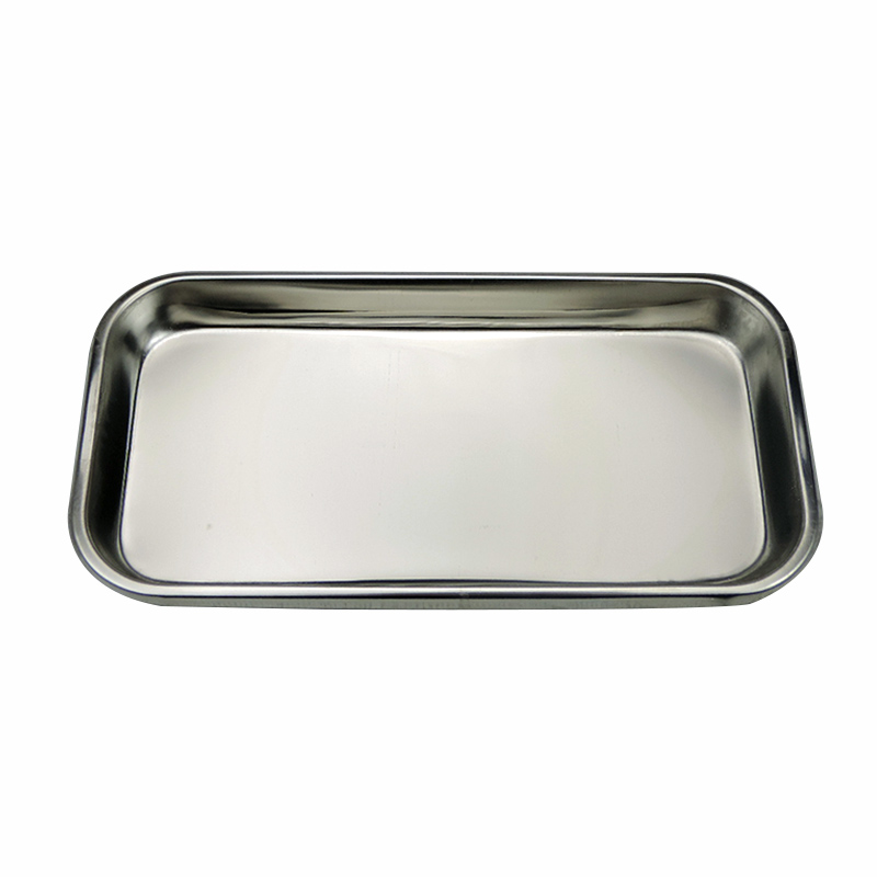 1pc Stainless Steel Dental Tool Holder Plate Tray Dental Medical Instrument Dish Dental Equipment Oral Lab Surgical Tray