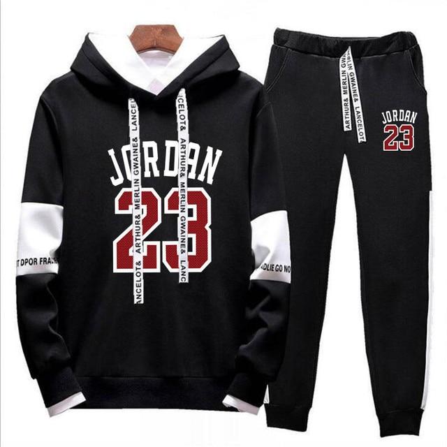 29bbb5689b172 Nuevo 2019 nuevo de moda JORDAN 23 hombres ropa deportiva de los hombres  sudaderas con capucha