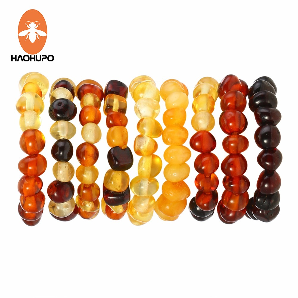 HAOHUP 100% Baltic Amber Adjustable Ring for Women Natural Gemstone Wedding Jewelry The 2pc cheaper