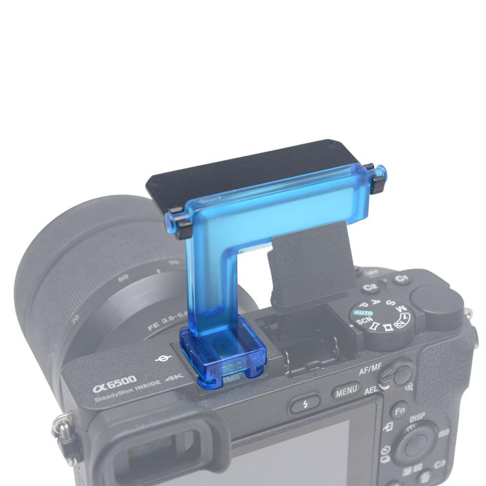 Sony A6500 A6300 A6000 NEX6 Kamera üçün Mcoplus 4 rəngli diffuzor - Kamera və foto - Fotoqrafiya 3