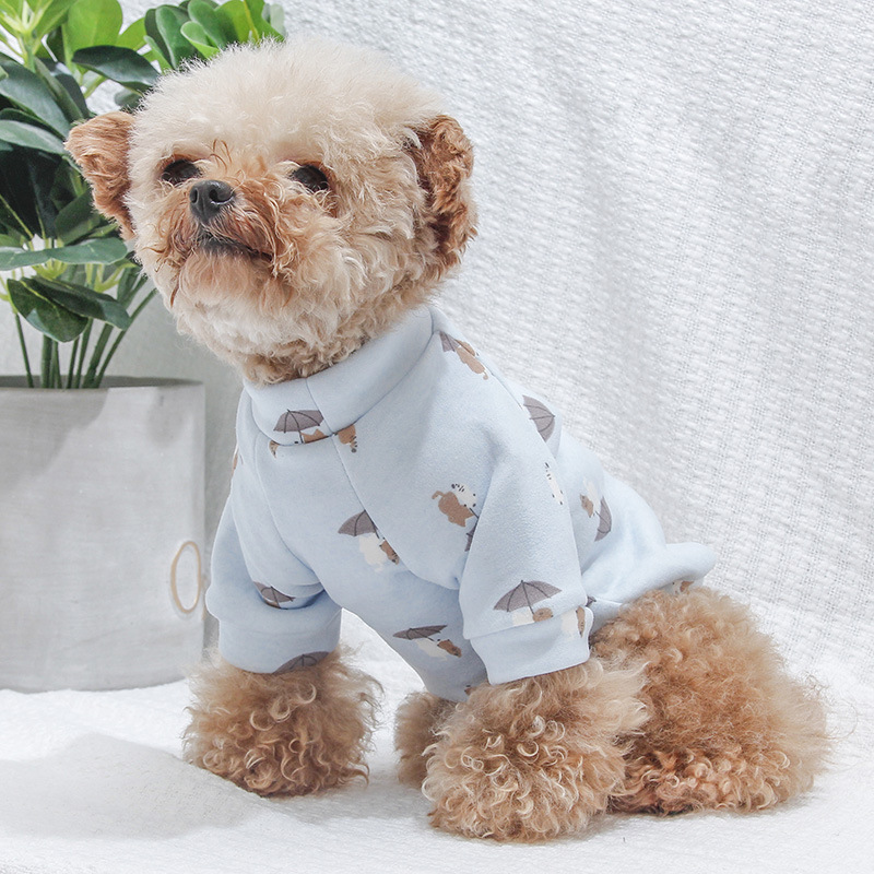 Winter Pet Clothes For Dog Clothing Jumpsuit Overalls Small Dog Costume Coat Jacket Chihuahua Poodle Bichon Pet Apparel Dropship Dog Clothing & Shoes