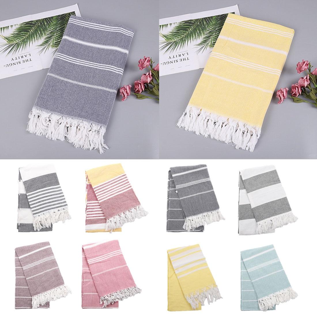 1Pc 100*180 Cm Turkish Beach Towels 100% Cotton Stripes