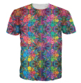 Summer Style Flashbacks T-Shirt colorful psychedelic 3D print t shirt  hipster hip hop t shirt Women/Men tees tops