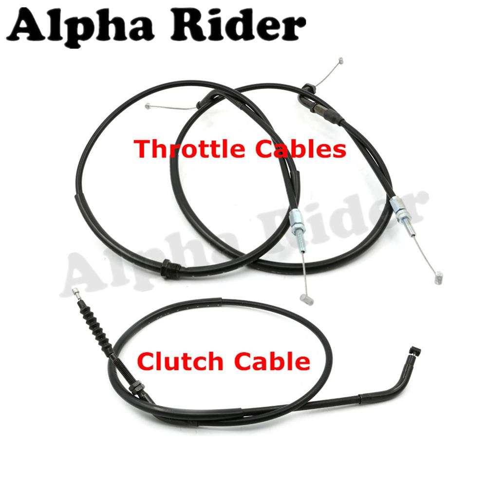 Motorcycle Clutch Cable Rope / Throttle Brake Oil Accelerator Control Wire Line for Honda CB 400 CB400 1992-1998 97 96 95 94 93 motorcycle clutch cable rope throttle brake oil accelerator control wire line for kawasaki ninja 250 r ex250 08 12 11 10 09