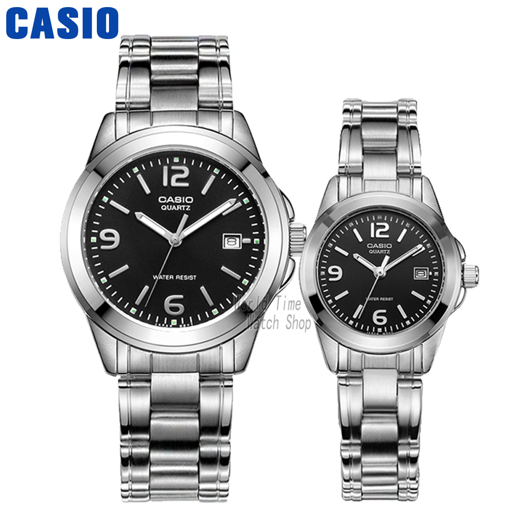 все цены на Casio watch Leisure and waterproof quartz couple table MTP-1215A-1A LTP-1215A-1A онлайн