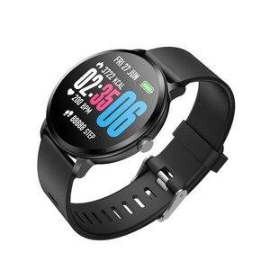 Image 3 - Спортивные Смарт часы V11, 1,3 дюйма, цветные, водостойкие, IP67, уведомления о звонках/сообщениях, пульсометр, измерение кровяного давления, Смарт часы