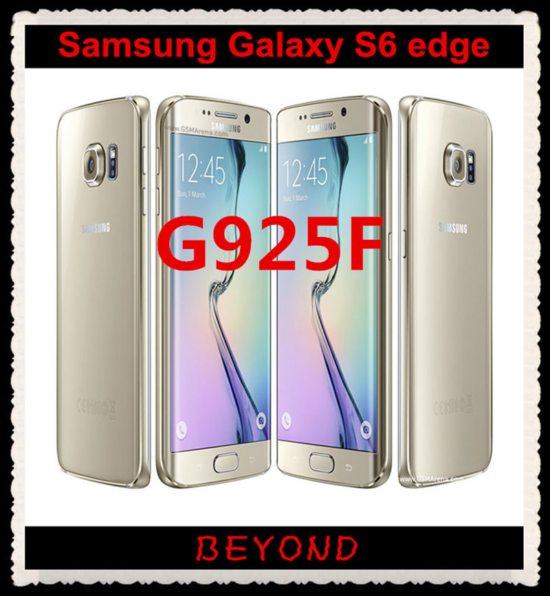 US $190 0  Samsung Galaxy S6 edge G925F Original 4G LTE Android Mobile  Phone Octa Core 5 1