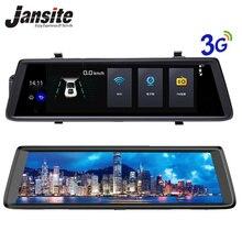 On sale Jansite Car cameras 10″ Touch Screen Android 5.0 3G WIFI Car dvr GPS Navigators FHD 1080P Video Recorder Mirror Dvr Dash Cam