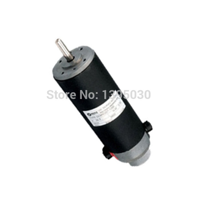 1pc New 120W DC Servo Motor Brushed 2900 rpm Single-ended with English Manual dc motor encoder DCM50207-1000 smt motor sanyo denki l404 011e17 dc servo motor genuine new