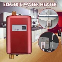 3800 Вт Электрический водонагреватель мгновенный проточный водонагреватель 110 В/220 В 3.8квт температурный дисплей нагревательный душ