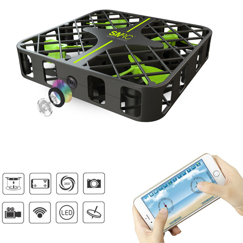 RC Drone M8S Mini RC Drone Wifi FPV VR Remote Control Quadcopter with Altitude Hold Mode and 100W WIFI Camera RC Helicopter