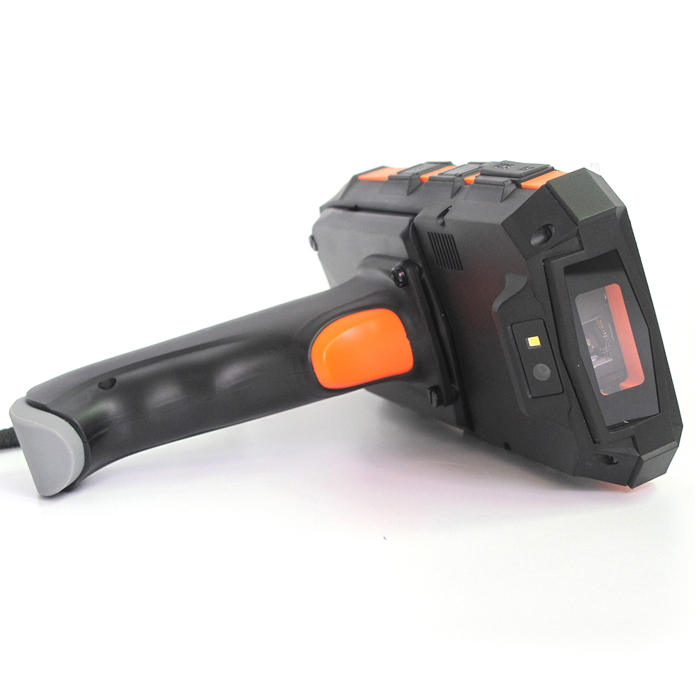 Industrial Rugged Handheld Device Data Collector Android 7 0 OS Portable Barcode Scanner UHF RFID reader 1D 2D Barcode Scanner in Scanners from Computer Office