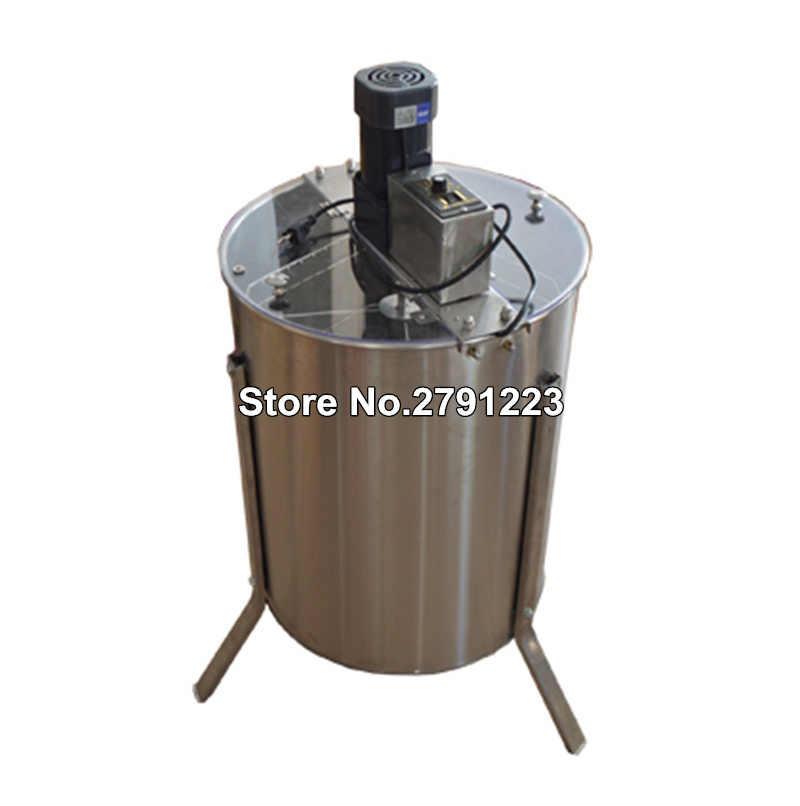 4 Frame Electric Honey Extractor Beekeeping Honeycomb Honey Bee Drum SS 140W