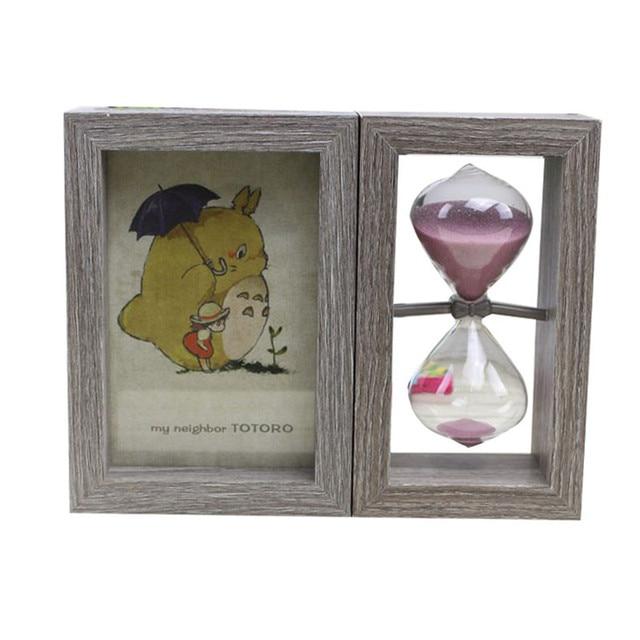 Home Decor Retro Classic Picture Frame DIY Vintage Hourglass ...