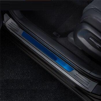 الخلفية لوحات القدم دواسة الخارجي Excent تعديل الكروم سيارة متنقلة تلقائيًا التصميم Protecter التبعي 17 18 19 لهوندا CRV