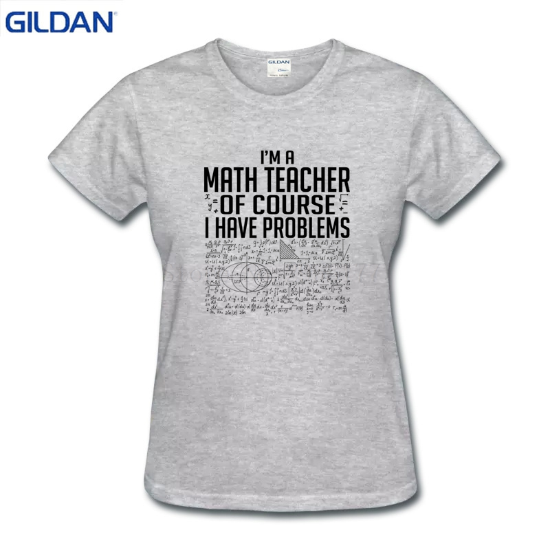 f121acf65d5 Great Creative Math Teachers Have Problems Soft Woman t shirt slim fit  printed Women's tshirt S-XL funny t-shirt for Women