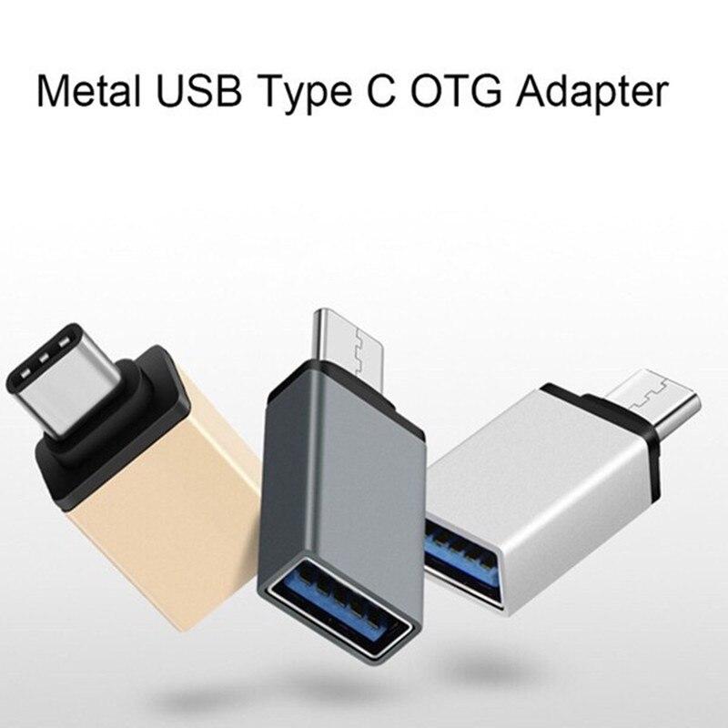 Basix USB 3.0 Type C To USB 3.0 Converter USB Type-C OTG Adapter For Macbook Huawei Xiaomi MI A1 5X 5S Plus 6P LG G5
