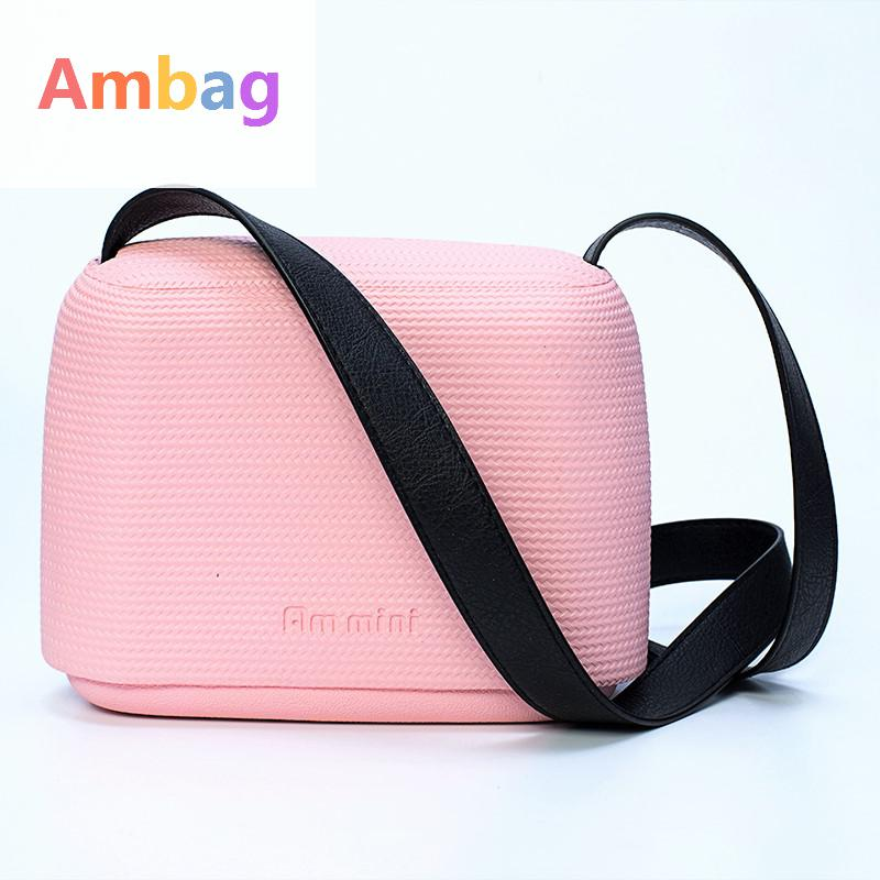 Ambag Women Messenger Bags Mini Beach Bag Eva Material Box Crossbody Handbag Multicolourtote Clutch Shoulder Bags Bolsa Feminina many colours mini mid size 30cm x 10cm x 28cm o bag obag style ambag body women s fashion eva handbag