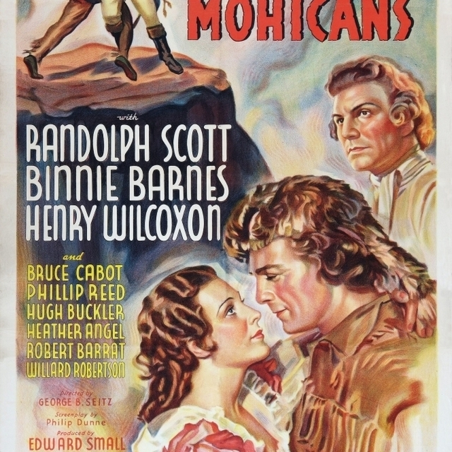 The Last Of The Mohicans Binnie Barnes Randolph Scott Henry Wilcoxon 1936 Movie Poster Masterprint (24 x 36)