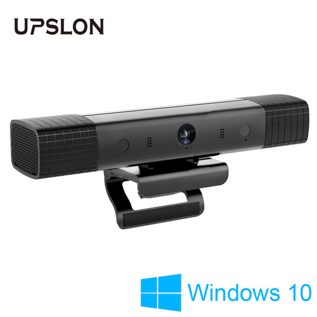 US $199 99 |Upslon Box TV Box Set in Windows 10 ,1080P HD Camera Smart TV  Set top Box for Web TV Business Conference Education Video Call-in Set-top