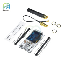 цена на 868MHz 915MHz SX1276 ESP32 LoRa OLED 0.96 Inch Blue Display Bluetooth WIFI Lora Kit 32 Module IOT Development Board