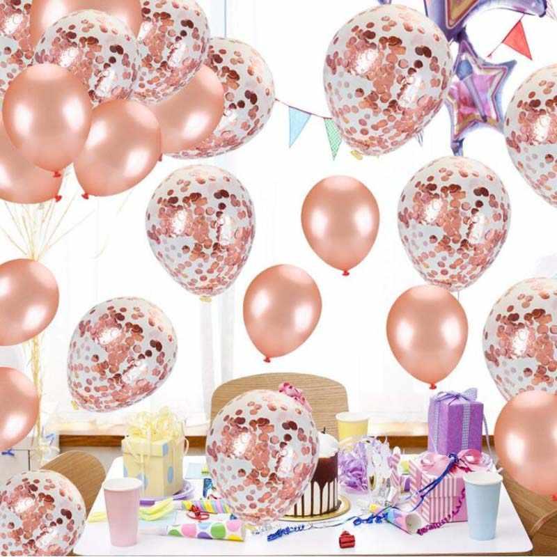8 сезон один год шарики ко дню рождения мальчик конфетти номер баллон 1st с днем рождения для девочек декоративный для Бэйби шауэра день рождения поставки
