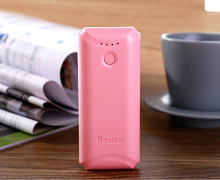 Besiter 5200mah External Battery Charger for Smart Phones Charging with LED Power Bank Portable power bank for xiaomi