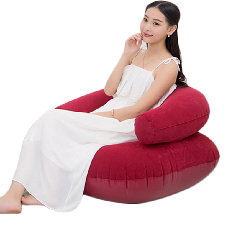Inflatable Seat Sofa: Inflatable Sofa Chair For Adult Air Seat Bean Bag