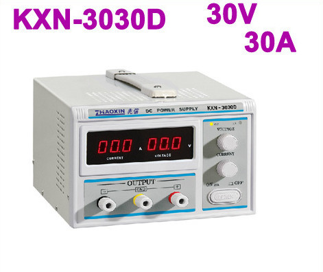 2018 New 30V 30A LED ZHAOXIN KXN 3030D High power Switching DC Power Supply by DHLfree shipping send the test line