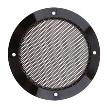 4 Inch Speaker Grills Cover Case With Pcs Screws For Mounting Home Audio DIY - 124mm Outer Diameter Black