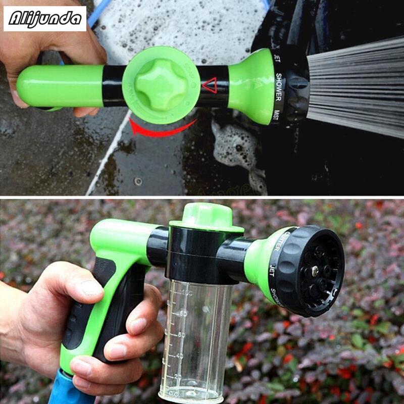 multi funcao profissional pistola de espuma de neve lavagem de carro pistola de agua de espuma