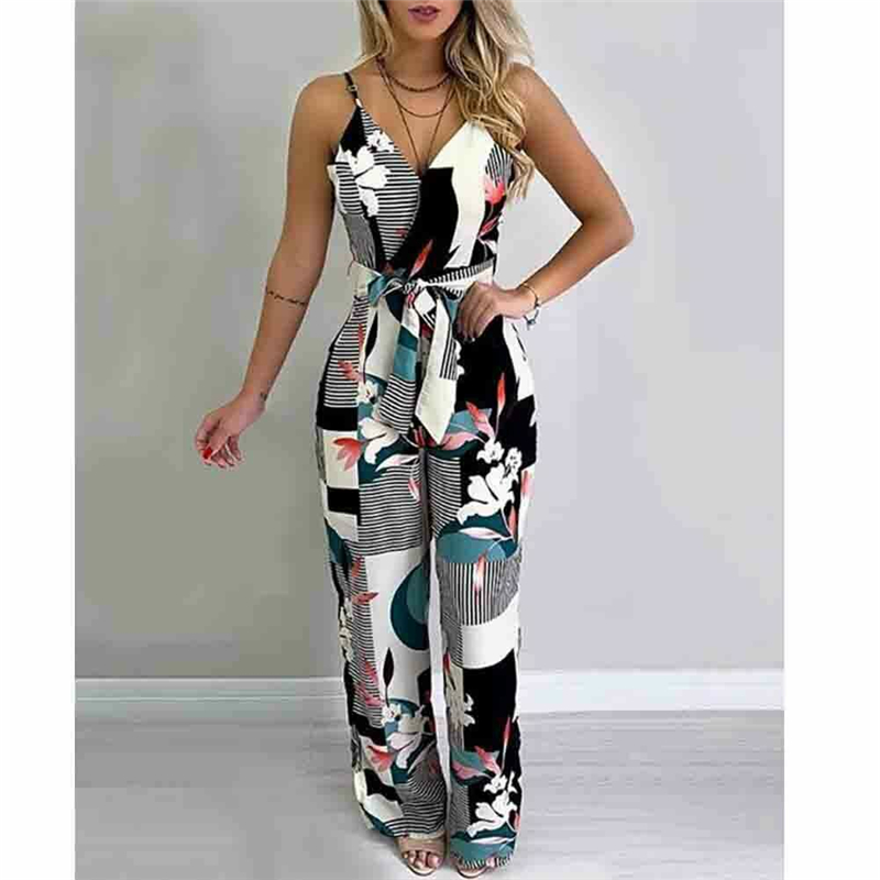 Fashion Jumpsuits For Women 2019 New Sexy Off Shoulder Romper Summer Jumpsuit Women Casual Sleeveless Playsuit Female Clothes