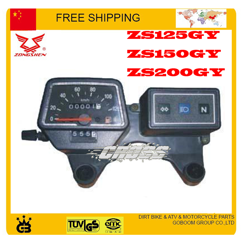 zongshen ZS125GY 150GY 200GY 125cc Motorcycle Odometer Speedometer speedo meter - GoBoom Group Co.,Ltd store