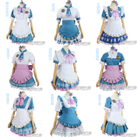 August Stock Anime Love Live Sunshine Aqours Valentine S Day Unawaken Maid Dress Kanan You