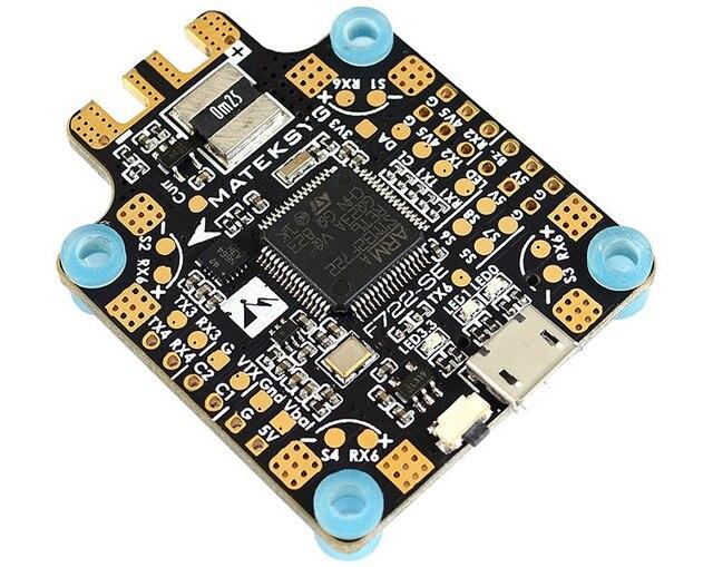 Matek Mateksys F722 SE/F722MINI SE Flight Controller AIO OSD BEC Strom Sensor Für RC Modelle Multicopter Drone Teil Accs