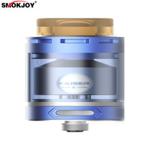 D'origine SMOKJOY KAISER RTA Réservoirs 3 ml Rubuildable Cigarette Électronique Atomiseur Pointe de Goutte À Goutte avec 510 fil 304 en acier inoxydable