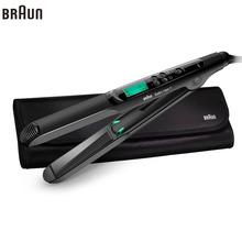 Cheapest prices Braun Satin Hair 7 Iontec Straightener ST730 Hair Care Styling Tools Curling Straightening Irons Professional Roller 100-240v