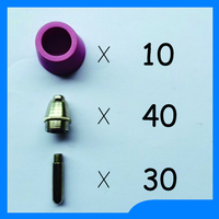 Russian Warehouse Delivery SG 55 AG 60 Plasma Cutting Cutter Torch Accessories KIT Plasma Nozzles TIPS