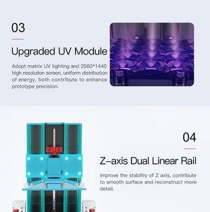 Image 4 - ANYCUBIC 3D Drucker Photon S LCD Schnelle Scheibe 405nm UV Harz Matrix UV Licht Dual Z achse SLA 3d drucker Photonen impresora 3d