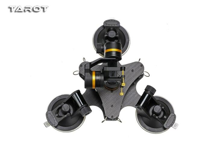 Таро ZYX T DZ 3 оси Металл камеры Gimbal стабилизатор автомобиль установлен PTZ TL3T03 для GOPRO HERO 3/3 +/ 4 Действие Спорт Cam аксессуар
