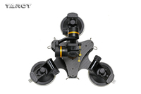 Tarot ZYX T DZ 3 Axis Metal Camera Gimbal Stabilizer Car Mounted PTZ TL3T03 for GOPRO HERO 3/3+/4 Action Sport Cam Accessories