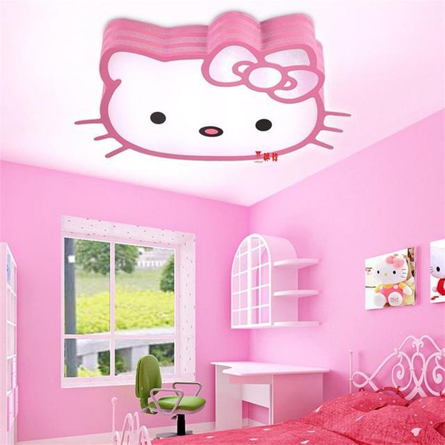 led plafondlamp 85 265 v 30 w plafond lampen slaapkamer kind baby lichten kitty kat