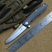 Dwa słońce TS16 D2 ostrze Flipper piłka brearing nóż taktyczny składany G10 uchwyt camping kieszonkowe noże Survival narzędzia edc