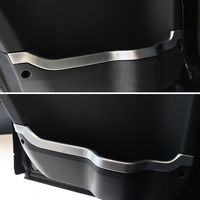 Car Door Interior Strip Line Cover Molding Trim ABS Garnished Bezel Decoration For LR4 Discovery 4 2010 2016 Car Styling