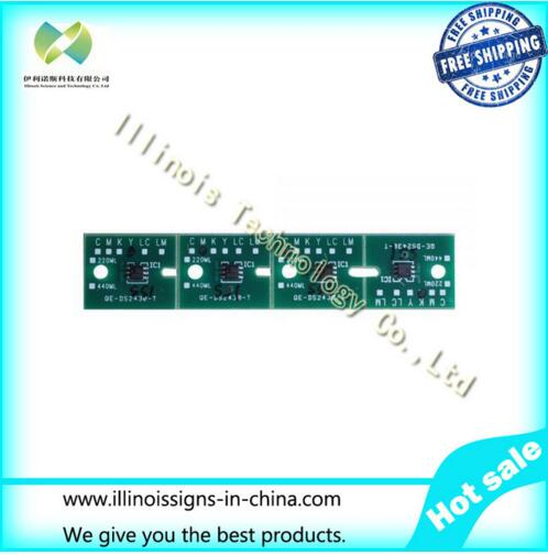 One-time Chip for Mimaki JV3 SS1 Cartridge 4 colors CMYK printer parts