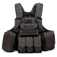 Multicam ACU FG Tactical Vest Modular Chest Rig Combat vest Tactical Airsoft Molle Combat Vest With MOLLE Pouches FG Camouflage