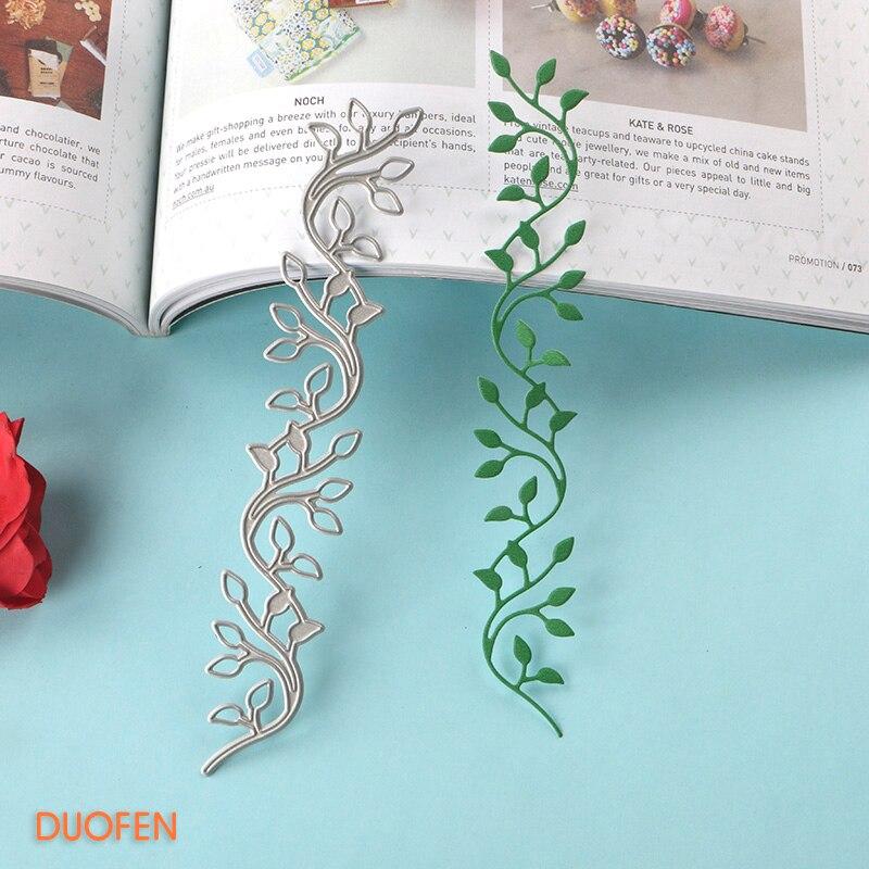 1pc Vine Design Metal Cutting Die For DIY Scrapbooking Album Paper Cards S!