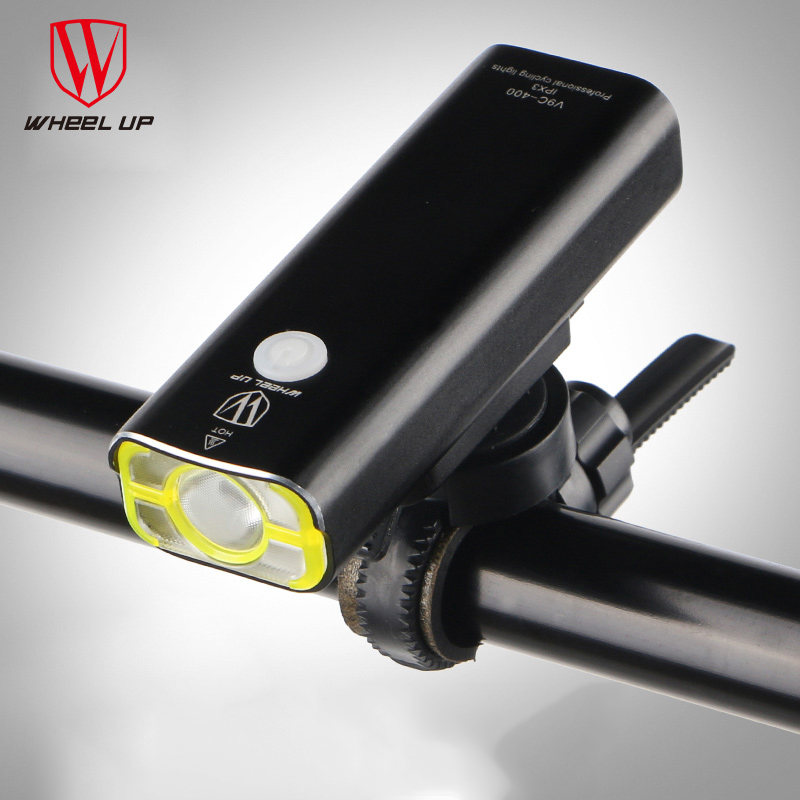 WHEEL UP Rechargeable Bicycle Headlight Bicycle Flashlight Bike  Torch LED Light USB Charging Handlebar Light  Bike Accessories